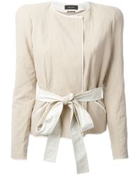 Isabel Marant | Natural Cropped Jacket | Lyst