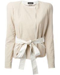 Isabel Marant - Natural Cropped Jacket - Lyst