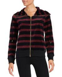 Calvin Klein | Multicolor Striped Funnelneck Jacket | Lyst