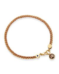 Astley Clarke | Metallic Heroes Bracelet With Smoky Quartz | Lyst