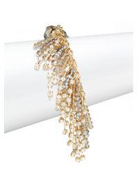 Saks Fifth Avenue - Metallic Beaded Fringe Bracelet - Lyst