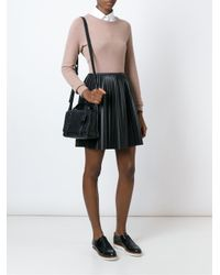 MICHAEL Michael Kors - Black 'collins' Cross Body Bag - Lyst