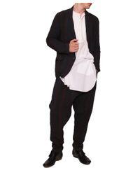 Uma Wang - Black Linen Pants for Men - Lyst