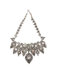 Erickson Beamon | Gray Hello Sweetie Necklace | Lyst