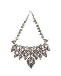 Erickson Beamon - Gray Hello Sweetie Necklace - Lyst