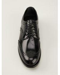 Dolce & Gabbana - Black 'boy' Brogues - Lyst