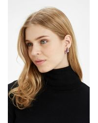 Oasis - Multicolor Ombre Stone Ear Crawler - Lyst