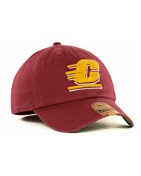 47 Brand | Red Central Michigan Chippewas Ncaa '47 Franchise Cap for Men | Lyst