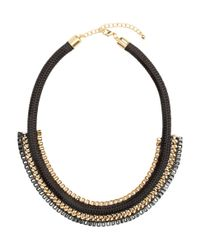 H&M | Black Short Necklace | Lyst
