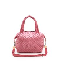 MZ Wallace | Pink Large Sutton Tote - Garnet | Lyst