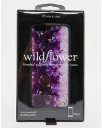 Wildflower - Multicolor Amethyst Iphone 6 Case - Lyst