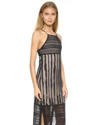 House of Harlow 1960 - Black Cara Dress - Lyst