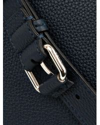 Fendi - Blue Peekaboo Large Leather Bag for Men - Lyst