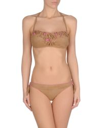 Agogoa - Natural Bikini - Lyst