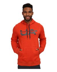 Under Armour | Red Ua Rival Cotton Novelty Graphic Hoodie for Men | Lyst