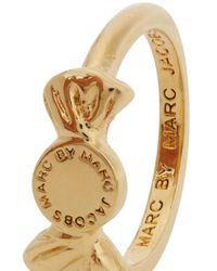Marc By Marc Jacobs | Metallic Lost And Found Gold Tone Candy Ring | Lyst