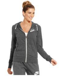 Nike | Gray Long-sleeve Gym Vintage Hoodie | Lyst