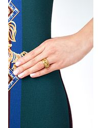 Aurelie Bidermann | Metallic Aurélie Bidermann Miki Ring - Gold | Lyst