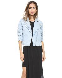 Cheap Monday - Wish Jacket - Pale Blue - Lyst