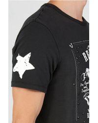 True Religion | Black Skull And Bones Mens T-shirt for Men | Lyst