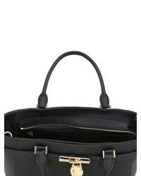 MICHAEL Michael Kors   Black Hamilton Saffiano Leather Tote Bag   Lyst