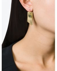 Wouters & Hendrix - Metallic 'playfully Precious' Earrings - Lyst