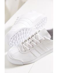 Adidas Originals - White Originials Samoa Perforated Mono Sneaker - Lyst
