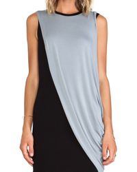 Bailey 44 - Gray Action Painting Dress - Lyst