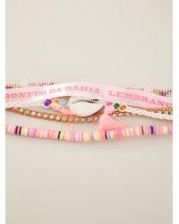 Hipanema | Pink Peace Bracelet | Lyst