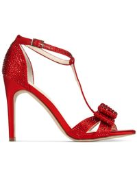 INC International Concepts - Red Reesie Evening Sandals - Lyst