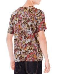 Valentino | Green Butterfly Print T-Shirt for Men | Lyst