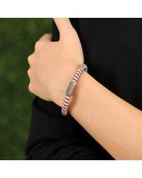 Carolina Bucci | Pink Rose Sparkle Twister Band Bracelet | Lyst