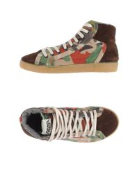 Springa | Brown High-tops & Trainers | Lyst