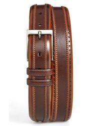Mezlan | Brown 'diver' Leather Belt for Men | Lyst