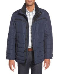 Bugatchi | Blue Jacket for Men | Lyst