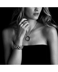 David Yurman - Metallic Infinity Large Pendant Necklace In Gold - Lyst