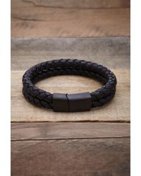 Forever 21 | Black Vitaly Dubbel Bracelet for Men | Lyst