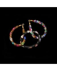 MZ Wallace | Multicolor Peppercotton Bracelet Gold Multi | Lyst