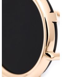 Ginette NY | Metallic Black Stone Ring | Lyst