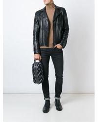 Dolce & Gabbana - Gray Crown Print Wash Bag for Men - Lyst