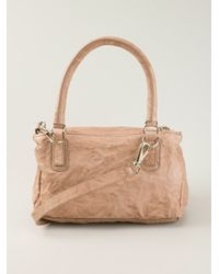 Lyst - Givenchy Medium Pandora Shoulder Bag in Pink 875271b5c9564