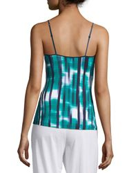 Cosabella - Green Loire Striped Lounge Camisole - Lyst