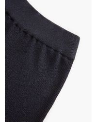 Mango | Blue Premium - Ribbed Trousers | Lyst
