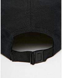 ASOS - 5 Panel Cap In Black With Aztec Peak for Men - Lyst