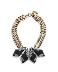 Lulu Frost - Blue Reflection Necklace - Lyst