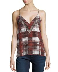 Lovers + Friends - Multicolor Last Goodbye Lace-inset Cami - Lyst