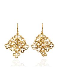 Dinny Hall | Metallic Talitha Motif Earrings | Lyst