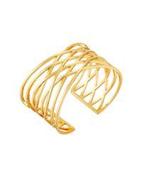 Gorjana | Metallic Jillian Cuff Bracelet | Lyst