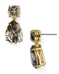 kate spade new york | Black Fancy That Drop Earrings | Lyst