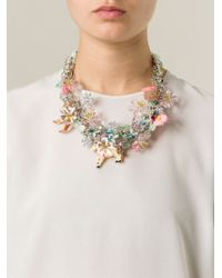 Night Market - Multicolor 'Bambi' Necklace - Lyst